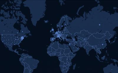 全球新冠病毒实时疫情地图