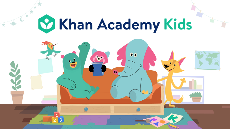 Khan Academy Kids (免费)