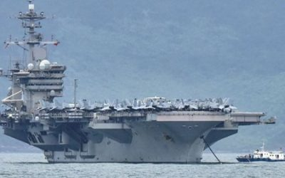 美國空母60%船員確診卻沒有病徵! (英)