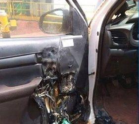 危险!千万别把洗手液留在车内!