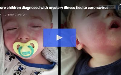 注意儿童皮疹! 新冠肺炎并发症西雅图已有一例