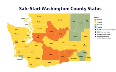 华盛顿州第二阶段经济部分重启,你的生意在内吗?